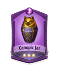 2 Canopic Jar