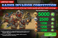 Raider Invasion Competition