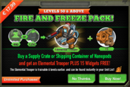 Fire And Freeze Pack