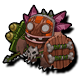 Creature bigfoot shaman icon