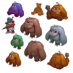 Bigfoot Concept Art