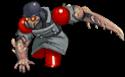 S trooper zombie ninja front