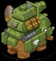 S mammoth player tank back