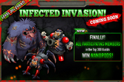 Invasion Competition 9 Infected