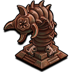 Deco raider bronzed sandworm icon