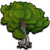 Deco arbor tree 07 icon