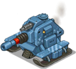 Veh tank arctic heavy front