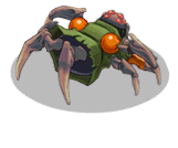 S trooper zombie spider back