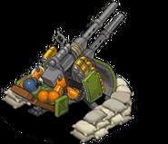 Veh anti aircraft gun premium back