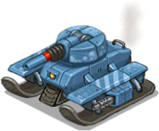 Veh tank arctic front