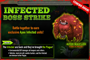 Infected Troops Boss Strike 2014