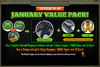 January Value Pack 30-39