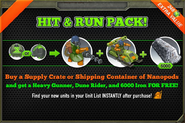 Hit And Run Pack November 2013
