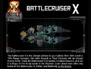 Battlecruiser x tip