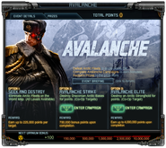 Avalanche event