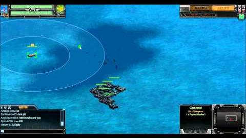 Battle Pirates - Gunboat vs DNX (Rogue Test Server)