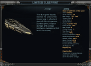 Avenger - Limited Blueprint