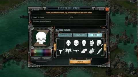 """P style=""""text-align center;color white;"""" Battle Pirates - Alliances p"""