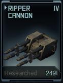 Ripper Cannon