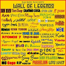Sacred Society WALL OF LEGENDS
