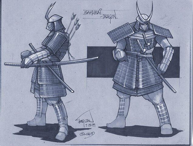 File:Dragon Samurai.jpg