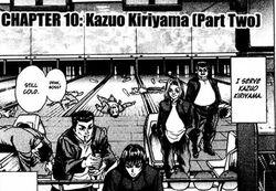 Kazuo Kiriyama (Part Two)