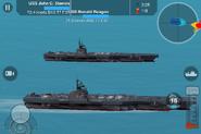 USS Reagan and USS Stennis