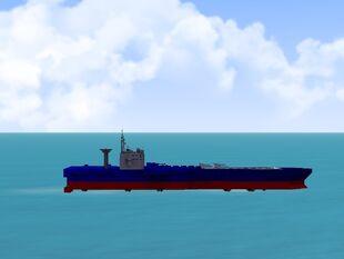 Hovercraft aircraft carrier