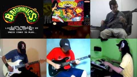 Battletoads in Battlemaniacs - Title Theme (VGMasters)