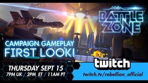Battlezone Campaign Stream!