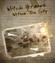 Witch Graves Within The City