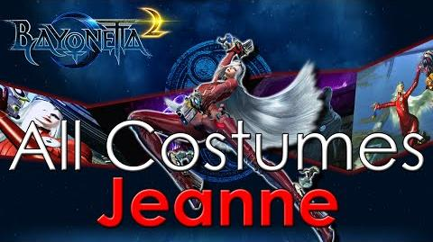 Bayonetta 2 - ALL Costumes *Jeanne*