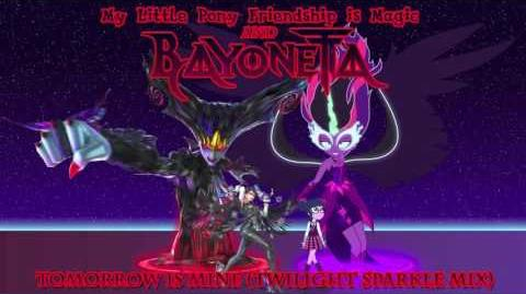 MLP FiM x Bayonetta Tomorrow is Mine (Twilight Sparkle Mix)