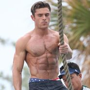 Zac Efron On Set2
