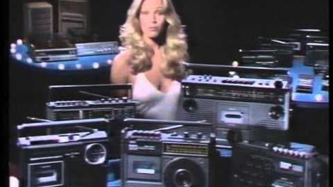 Susan Anton in a 1977 Sanyo Commercial