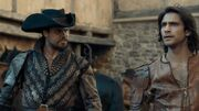 D'Artagnan and Porthos