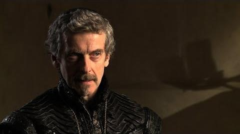 Peter Capaldi talks about Cardinal Richelieu - The Musketeers - BBC One