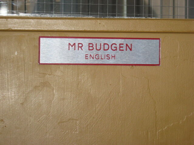 File:Mr Budgen Classroom door.jpg
