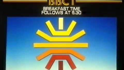 BBC-1 first Breakfast Time Monday 17 January 1983