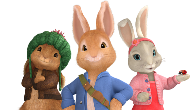 File:Peter Rabbit Clipart.png