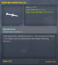 AGM-88 HARM Missile