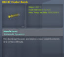CBU-87 Cluster Bomb