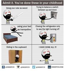 Weed Bro proudly reminisces about his childhood