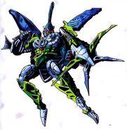 Beast Wars TM2 Cybershark