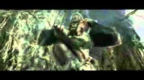 Fan Made Beast Wars Megatron vs Optimus Primal Live Action Scene