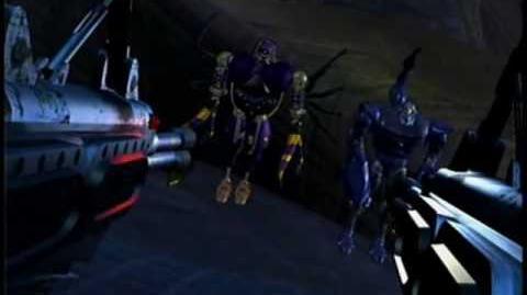 Transformers (Beast Wars EP01x07) - Scorponok & Tarantulas get slagged