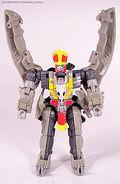 Saberback Robot Mode