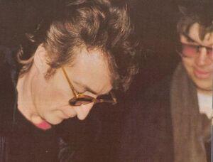 The last ever photo of John Lennon 8th December 1980