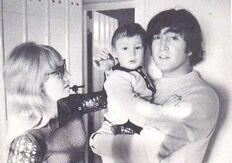 John, Cynthia and Julian