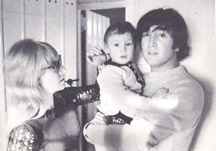 File:John, Cynthia and Julian.jpg